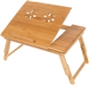 Trademark Innovations Folding Bamboo Bed/Tray