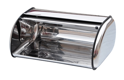Stainless Steel Bread Box By Trademark Innovations