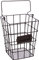 Metal Wire Mesh Hanging Utensil Storage Basket by Trademark Innovations