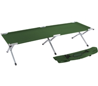 Trademark Innovations Portable Folding Camping Bed Cot (Army Green)
