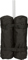 "Canopy Tent Weight Bag 20"" Tall with Zippered Top By Trademark Innovations"