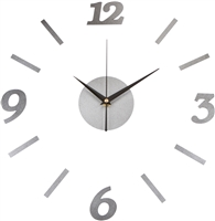Design It Yourself Indoor Metal Wall Clock by Trademark Innovations