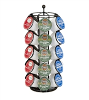 Trademark Innovations K-Cup Coffee Cup Carousel Holds 30 K-Cups With Circle Base