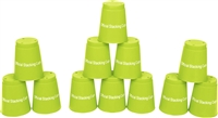 Quick Stack Cups Speed Training Sports Stacking Cups Set of 12 By Trademark Innovations
