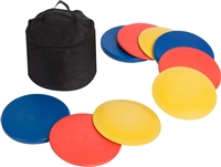Disc Golf Set 9 Discs With Disc Golf Bag By Trademark Innovations