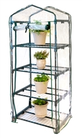 4 Shelf Mini-Greenhouse With Cover by Trademark Innovations