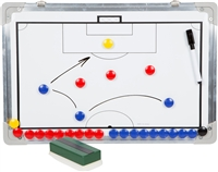 Sport Magnet Board with Marker Pieces Perfect to Coach Soccer, Basketball, Hockey, more!