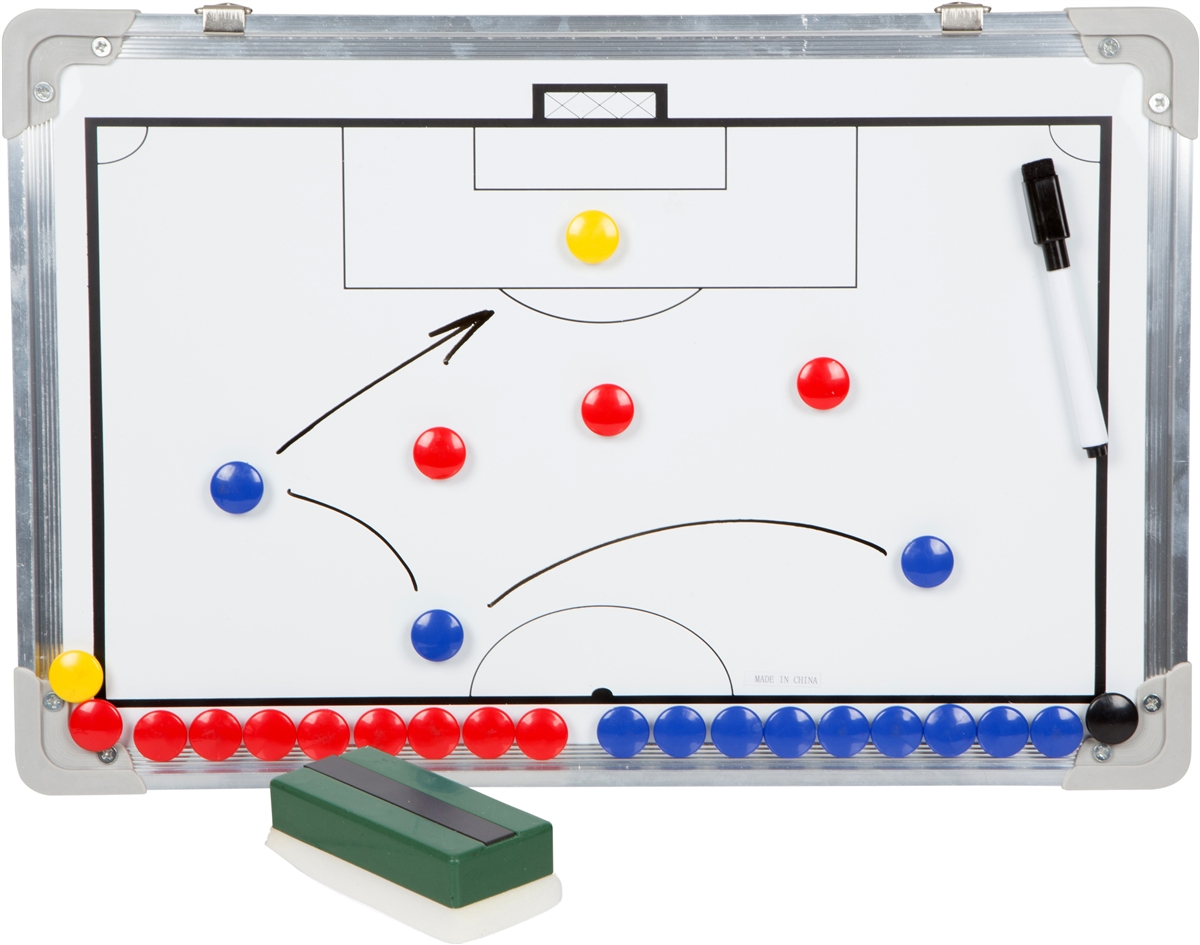 Sport Magnet Board with Marker Pieces Perfect to Coach Soccer Basketball Hockey and more