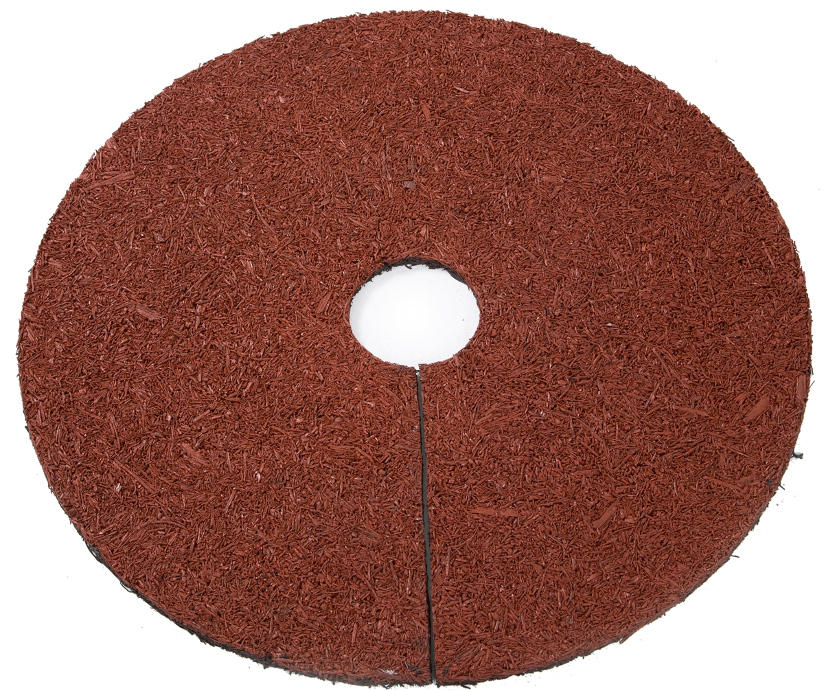"""24"""" Reversible Mulch Ring Tree Protector Mat by Trademark Innovations"""