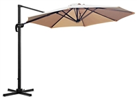 10' Hanging Offset Patio Umbrella by Trademark Innovations
