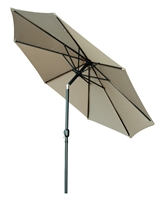 10' Tilt with Crank Patio Umbrella by Trademark Innovations