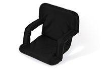 Portable Recliner Seat Multi-Use By Trademark Innovations (Black)