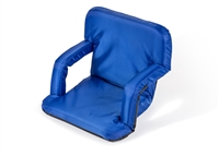 Portable Picnic Armchair Reclining Seat By Trademark Innovations (Blue)