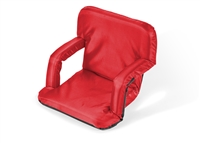 Portable Picnic Armchair Reclining Seat By Trademark Innovations (Red)