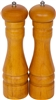 Set of 2 Wood Pepper Mill Grinder by Trademark Innovations