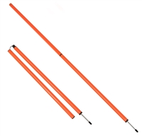 Sports Coaching 6' Agility Training Poles (Set of 2)