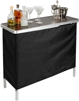 Portable Bar Table Two Skirts Included
