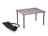 Low Wood Portable Table with Carry Bag by Trademark Innovations