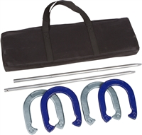 Professional Horseshoe Set Powder Coated Waterproof Steel by Tailgate360