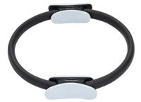 Pilates Exercise Resistance Fitness Rings By Trademark Innovations (Black, 1 Ring)