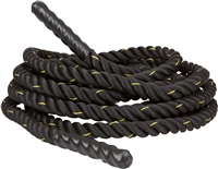 Battle Rope Strength Core Traning by Trademark Innovations (1.5 in. Thick, 30 Feet)