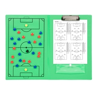 Magnetic Soccer Clipboard Erasable White Board Great For Coaches