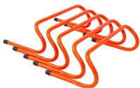 "6"" Speed Training Hurdles Pack of 5"