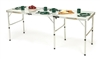Portable Lightweight  Aluminum Folding Table by Trademark Innovations