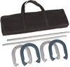 Trademark Innovations Pro Horseshoe Set Powder Coated Steel