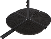 Resin Umbrella Base Weights for Offset Umbrella -Set of 2 30lbs each  by Trademark Innovations