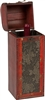 Treasure Chest Wine Box Wooden for 1 Bottle By Trademark Innovations