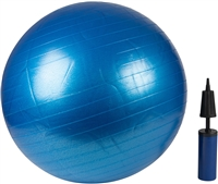 Exercise Ball With Pump For Fitness, Training, Yoga More By Trademark Innovations