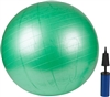 Exercise Ball With Pump Green 65cm By Trademark Innovations