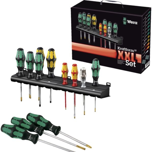 05347105001 347105 12 pc assorted screwdriver set. Black Bedroom Furniture Sets. Home Design Ideas