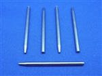 1/8in shank diameter.  Inside Diameter: 0.030in (0.76mm).