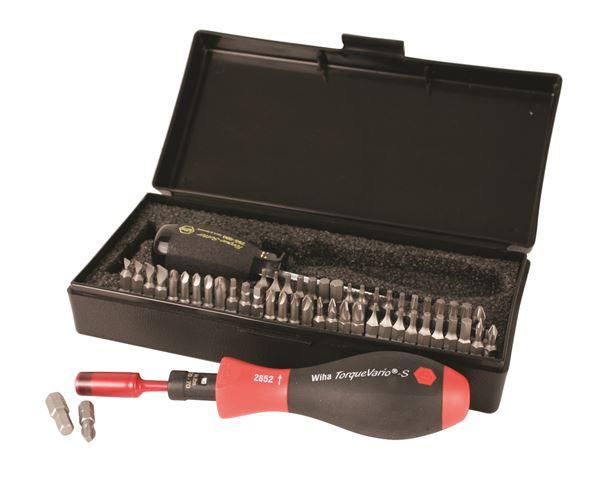 28595 Wiha Tools Torque Control 53 Pc Bit Set