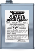 Safety Wash Cleaner Degreaser, 4 litres (1 gallon) liquid