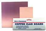 "Copper Clad Boards Plain (1oz copper), Double Sided, 1/16"", 6""x6"""