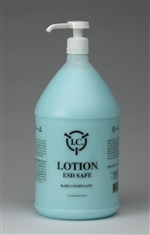Pregloving Fragrance Free Lotion Gallon. Bottle with pump