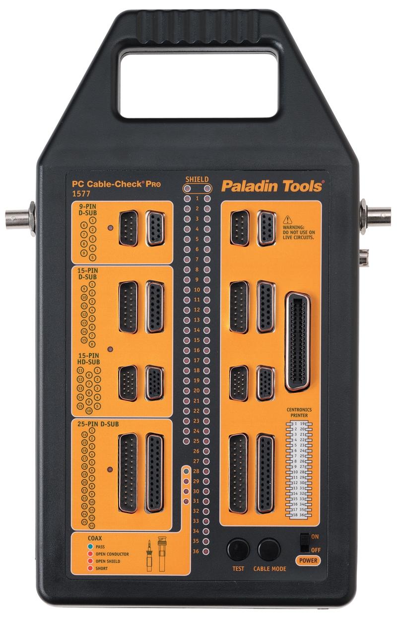 Pa1577 Paladin Tools Pa1577 Cable Check Pc Pro Tester