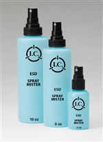 8oz Spray Mister Bottle, Static Safe Dissipative Bottles