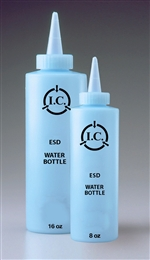 8oz Water Bottle, Static Safe Dissipative Bottles
