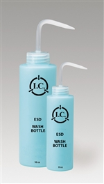 16oz Wash Bottle, Static Safe Dissipative Bottles