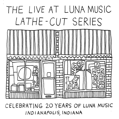 "THE LIVE at LUNA music LATHE-CUT 7"" BOX SET"