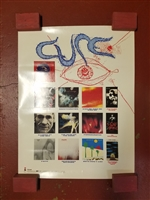 "THE CURE 1992 ORIGINAL 25"" X 36"" PROMOTIONAL POSTER"