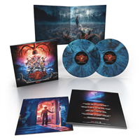 SOUNDTRACK - STRANGER THINGS SEASON 2 (Inter-dimensional Blue Vinyl Edition) 2-LP Set