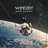 WEEZER - Pacific Daydream (Indie Exclusive Red W/ Black Splatter Vinyl Edition) LP