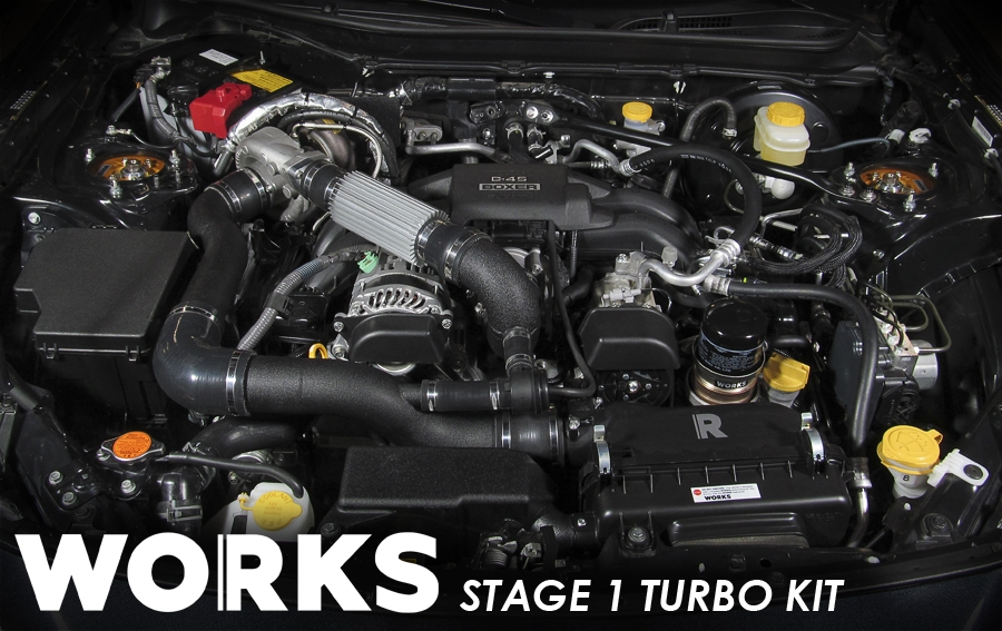 Works Fr S Brz Stage 1 Quot Simple Quot Turbo Kit