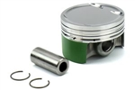 Cosworth Forged Piston w/Pins and Clips 9.0:1