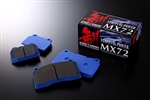 Endless MX72 Semi-Metallic Street Brake Pads ('08 Honda Civic Si)